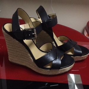 Michael Kors heel wedge sandals , size 8.5, new